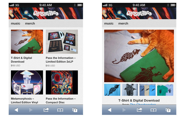 every bandcamp site is now an awesome mobile site bandcamp daily