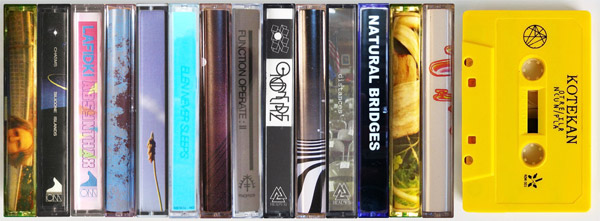 Cassette tapes on bandcamp!