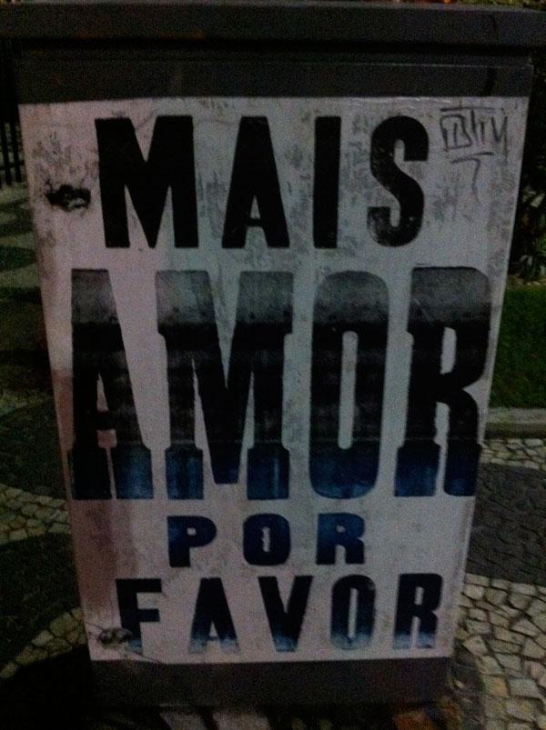 mais amor por favor