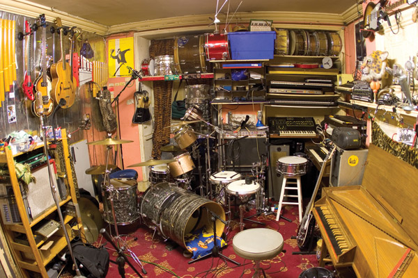 Shawn Lee's studio/lab