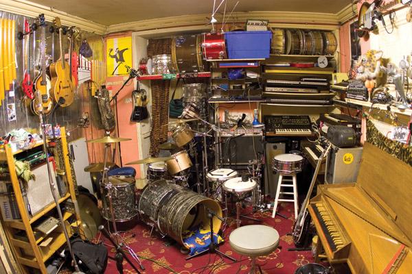 Shawn Lee's studio/lab