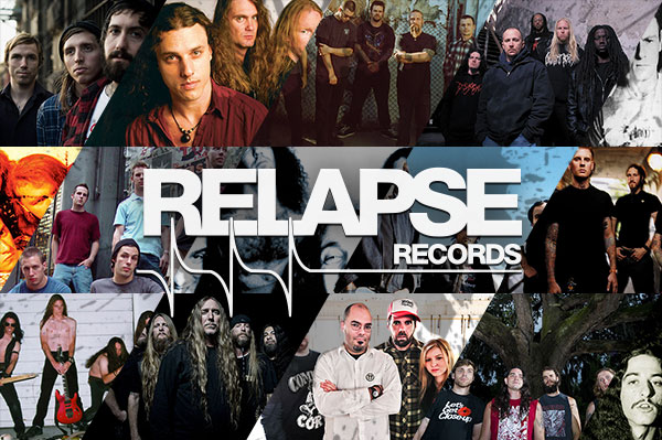 25 years of Relapse Records