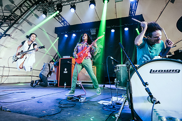 Deerhoof photo by Joe Singh