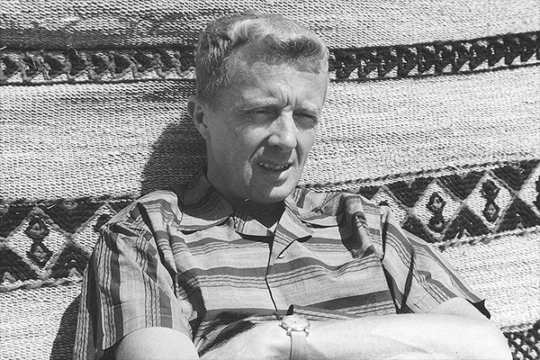 Paul Bowles in Morocco