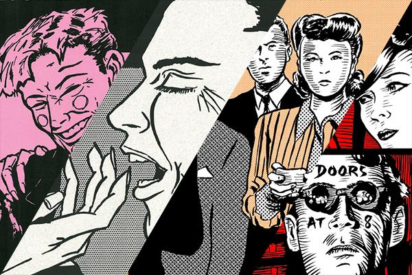 Ryan Nelson art collage