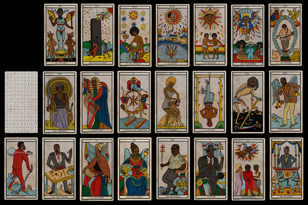 The Black Power Tarot by Khaneaton