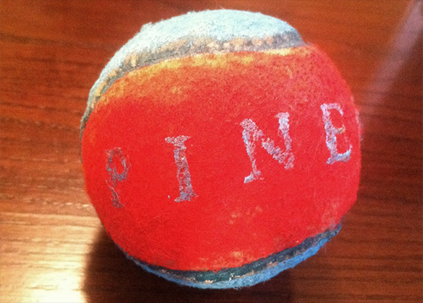 Official Pinegrove Tennis Ball