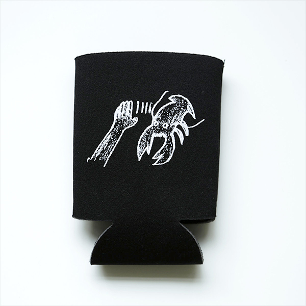 Lobster Theremin Beer Koozie