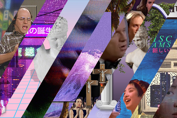 vaporwave iconography
