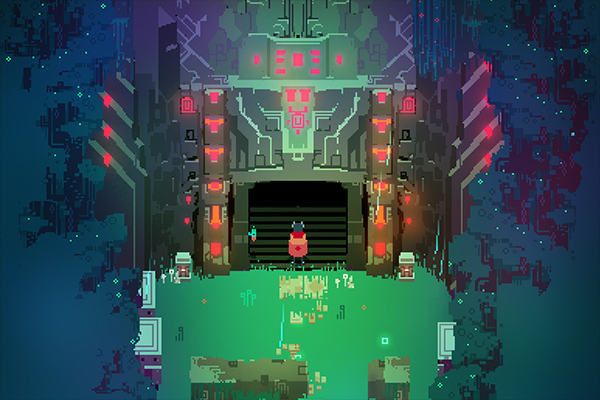 "A still from the game ""Hyper Light Drifter"""