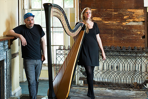 Jeff Zeigler and Mary Lattimore