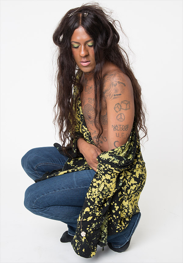 Mykki Blanco, photo by Julia Burlingham