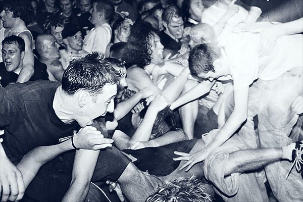 Moshpit at Sick Of It All - Berlin S036 - 1996 - photo by bhrgero.