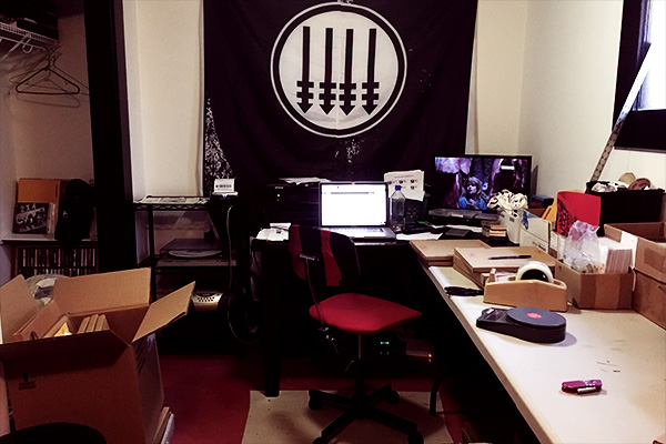 Iron Lung's offices. Photo by Jensen Ward.