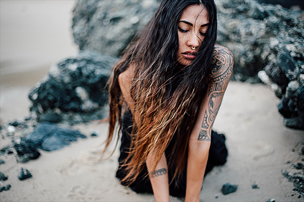 Angelica Lopez is Low Leaf. Photo by Stephanie Dandan.