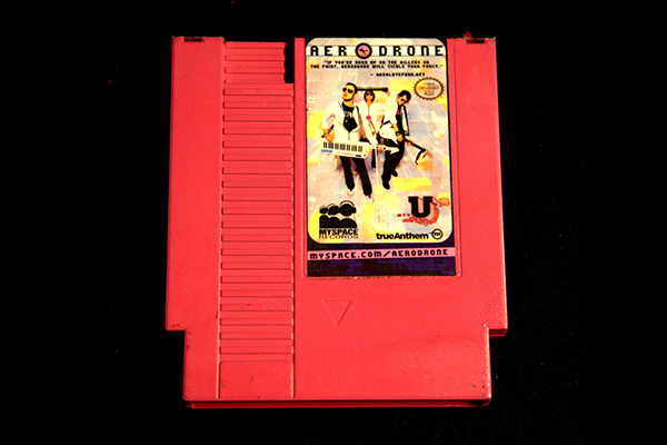 Aerodrone Nintendo Cartridge