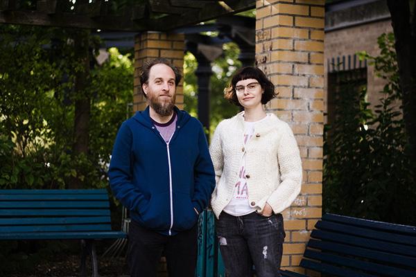 Nadja in Berlin. Photo by Kristel Jax.