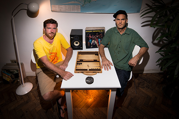 Maga Bo and Wolfram Lange, founders of Kafundó Records.