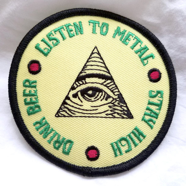"""0bb7e069 """"Listen to Metal, Stay High, Drink Beer."""" Wise words for the wicked."""
