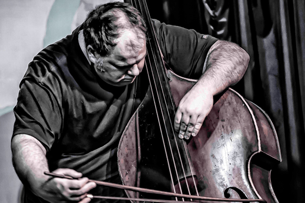 Double Bassist Damon Smith is a Driving Force in Out-Jazz