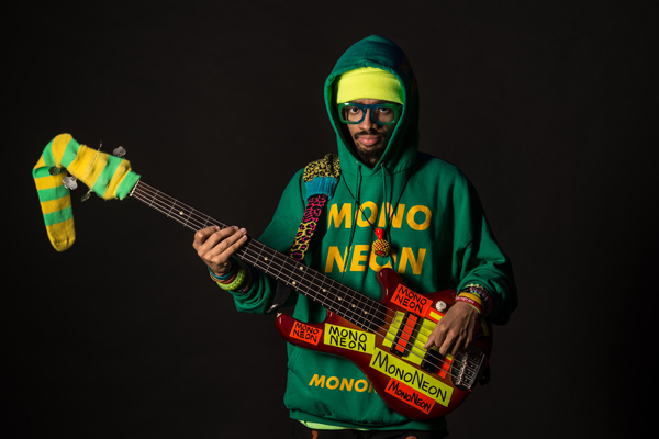 MonoNeon, the Funk Bass Maestro Carrying the Torch of Duchamp