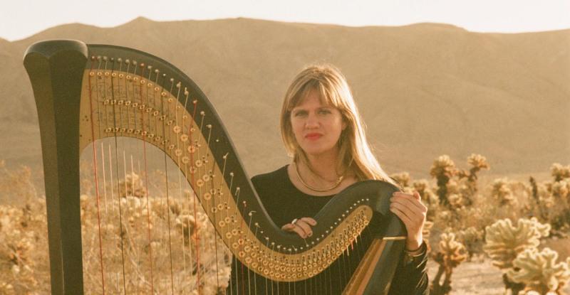 Mary Lattimore's Traveling Harp