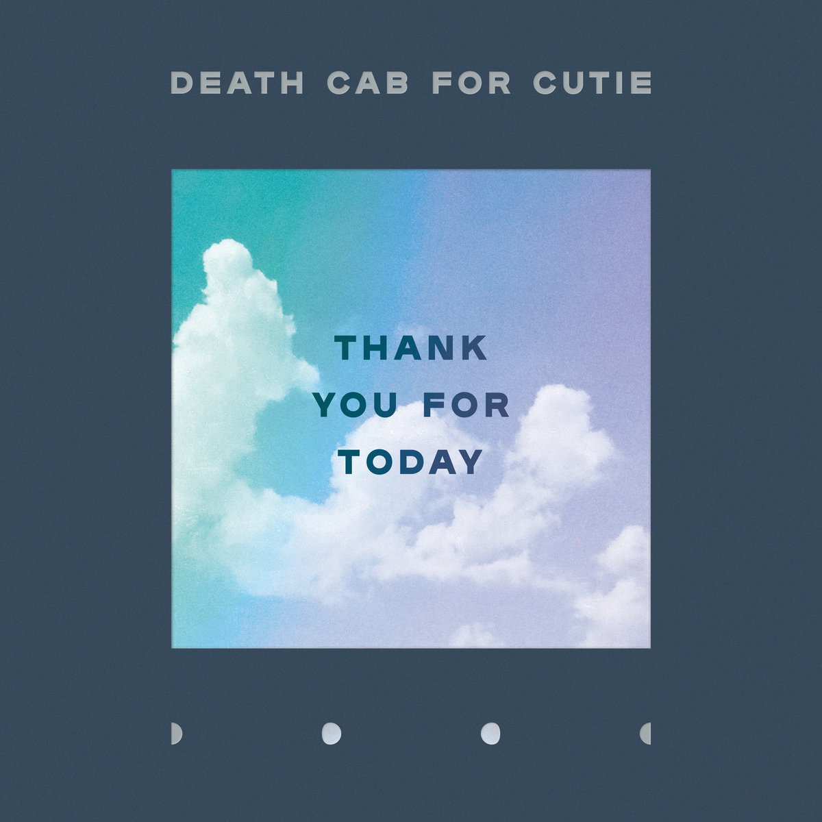 "Album of the Day: Death Cab for Cutie, ""Thank You For Today"""