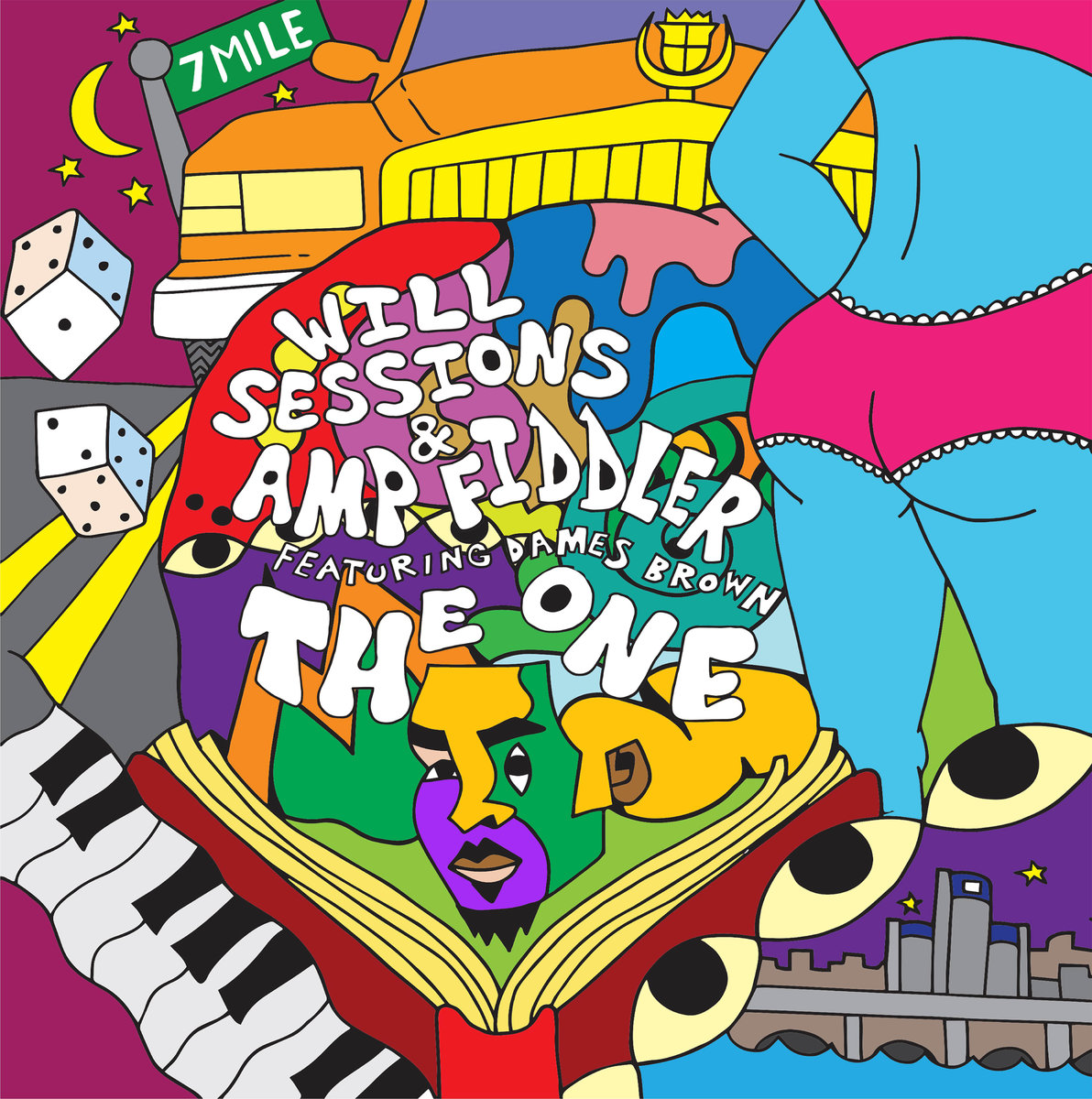 """Album of the Day: Will Sessions & Amp Fiddler ft. Dames Brown, """"The One"""""""