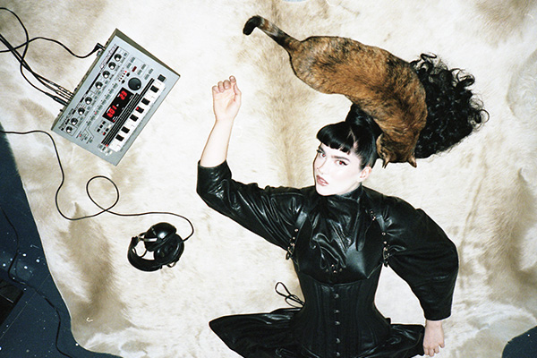 High Gloss: Fee Lion's Dark Synthpop Aesthetics