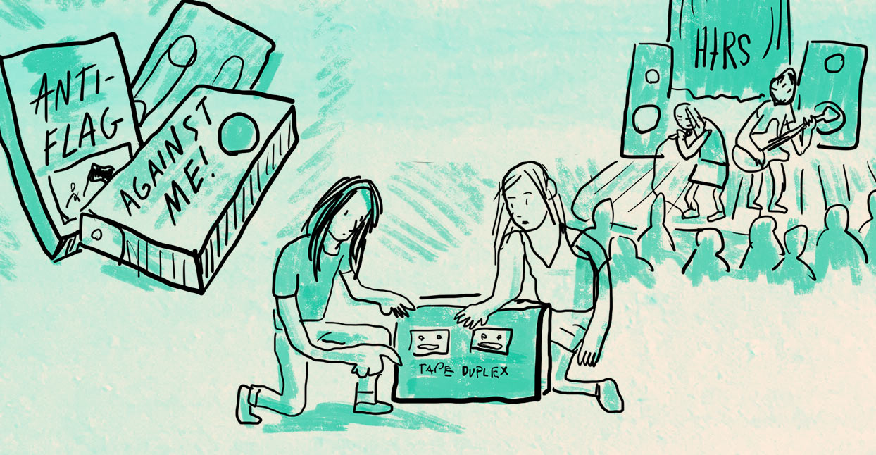 The Supportive Punk of Get Better Records: An Illustrated Interview