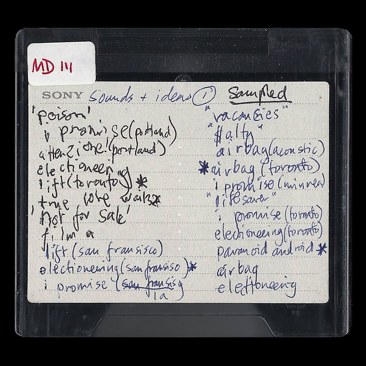 "Album of the Day: Radiohead, ""MINIDISCS [HACKED]"""