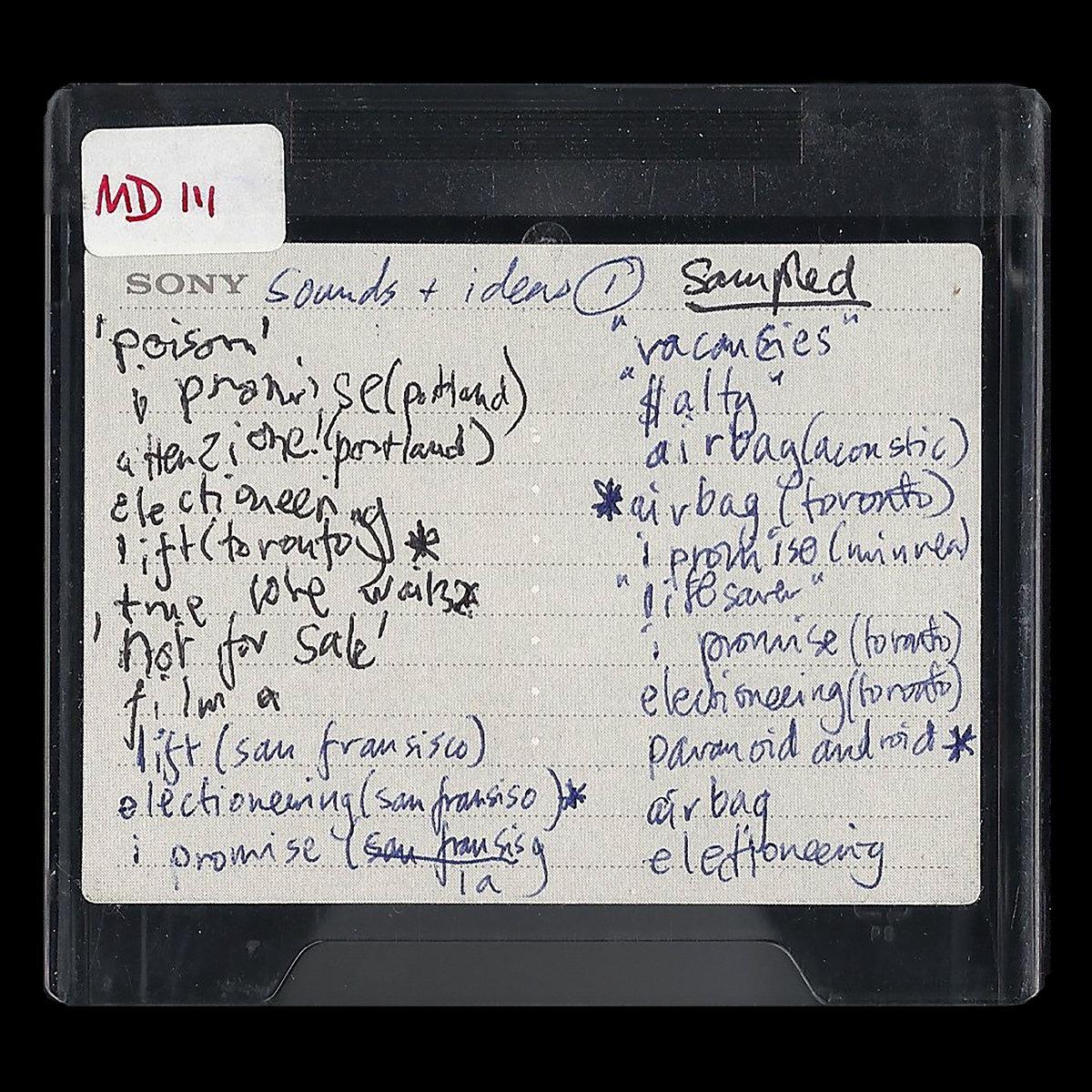 """Album of the Day: Radiohead, """"MINIDISCS [HACKED]"""""""