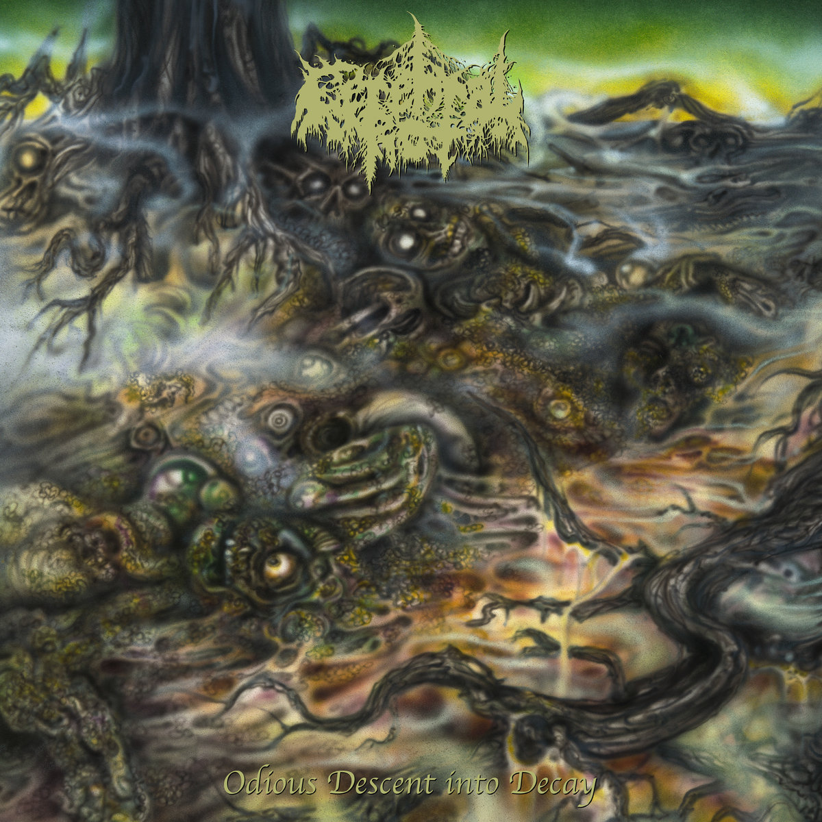 """Album of the Day: Cerebral Rot, """"Odious Descent Into Decay"""
