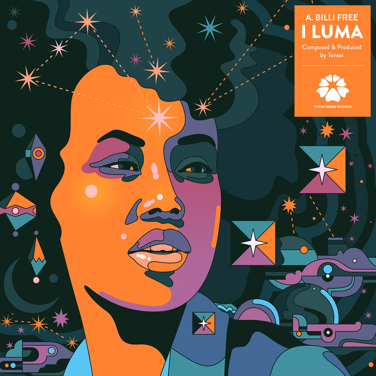 "Album of the Day: A  Billi Free & Tensei, ""I Luma"" « Bandcamp Daily"