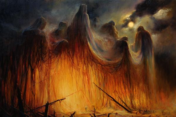 How Mariusz Lewandowski's Epic, Emotive Paintings Made Him Metal's Most In Demand Artist